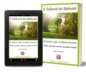 kniha zdarma, ľahké trávenie, odstránenie problémov, ťažkostí s trávením