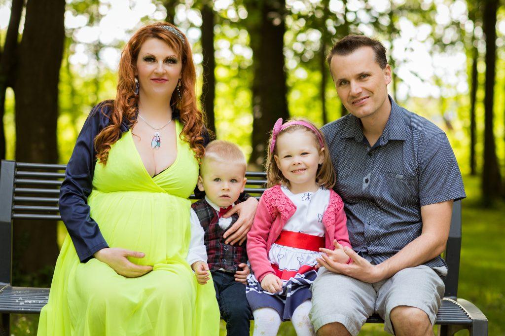 zdravá a šťastná rodina