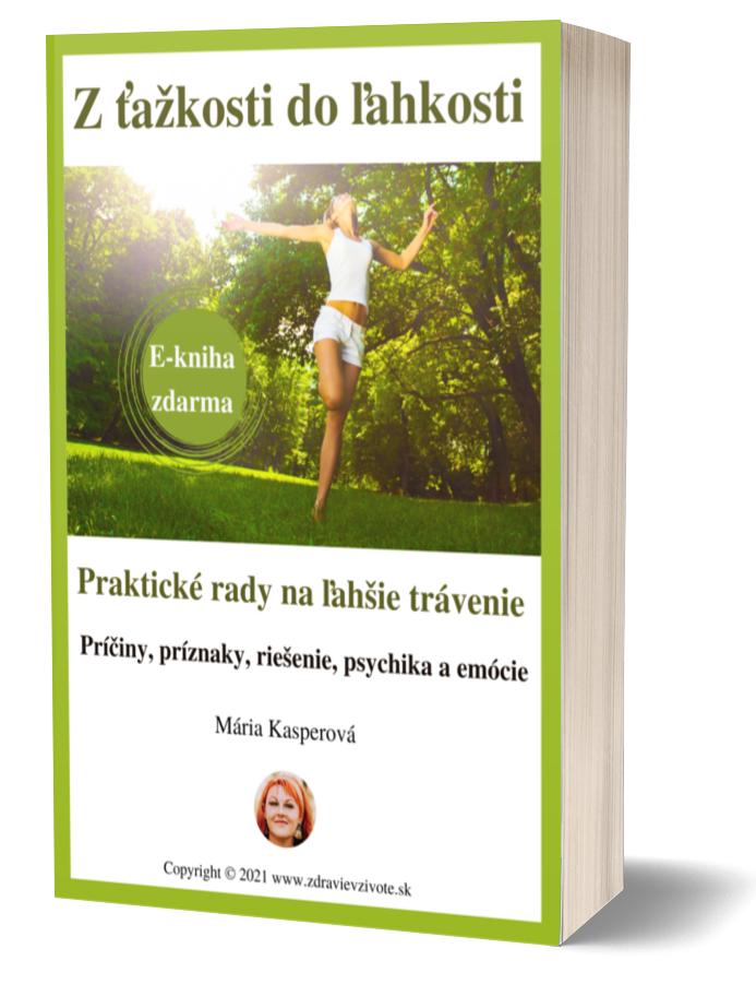 E-book zdarma - problémy a ťažkosti s trávením, bolesti žalúdka, žlčníka, pálenie záhy, ťažkosti čriev