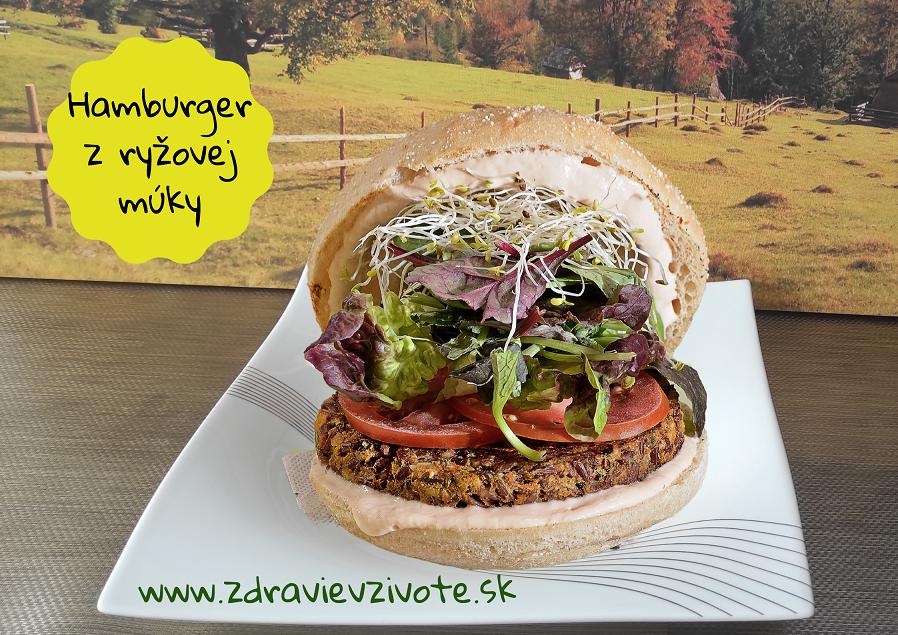 hamburger bez múky, burger bez lepku, žemla bez lepku, žemla bez múky, ľahké trávenie