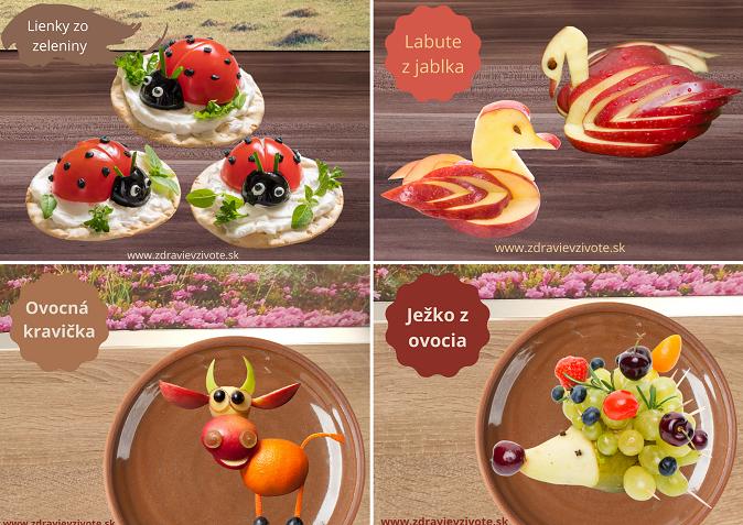 Inšpirácie pre deti, čo jedia zdravé deti, deti a zdravé jedlo